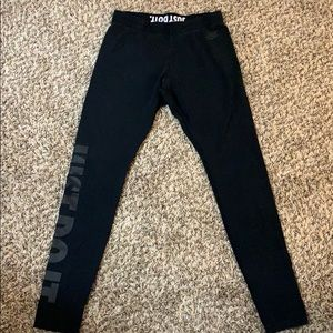 Nike cotton mid rise legging